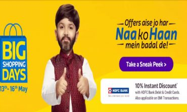 Flipkart Big Shopping Days: A Sneak Peek into Discounts, Deals and Biggest offers!