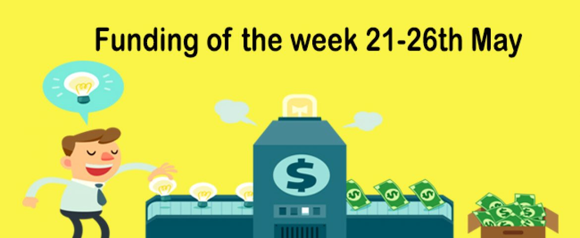 Funding News of the Last Week (May 21st – 26th 2018)
