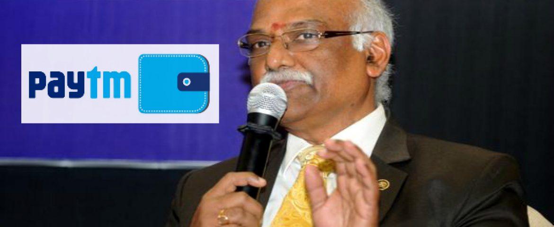 Paytm Appoints Ex-RBI Deputy Governor R Gandhi As Advisor