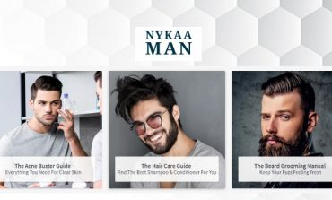 Beauty Retailer Nykaa Launches Its Men's Grooming Website