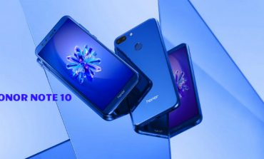 Honor Note 10 to Debut With a Massive 5000 mAh Battery