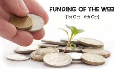 Top Five Funding News of the Last Week (1st Oct - 6th Oct)