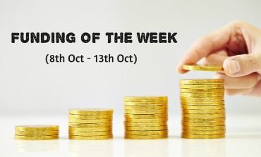 Top Five Funding of the Week (8th Oct - 13th Oct)