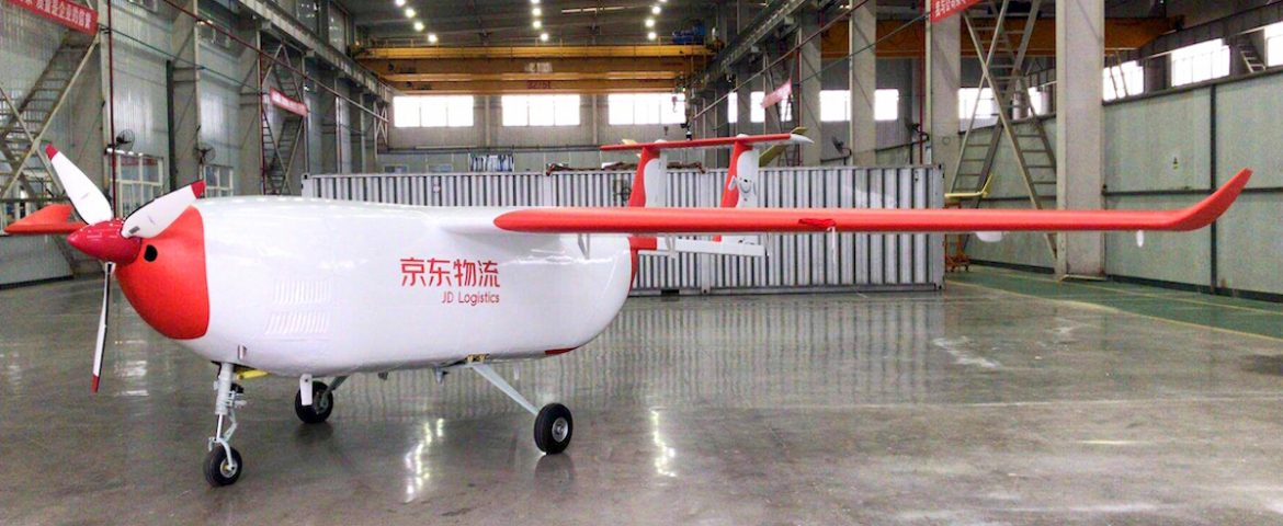 China's JD.com Launches its First UAV for Cargo Deliveriesb