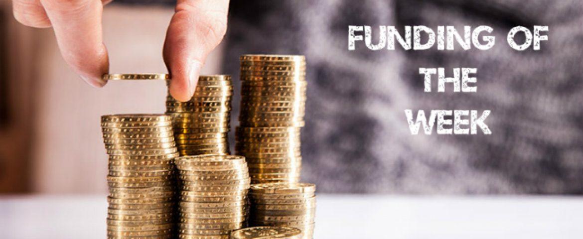 Top Five Funding of the Week (29th Oct – 3rd Nov)