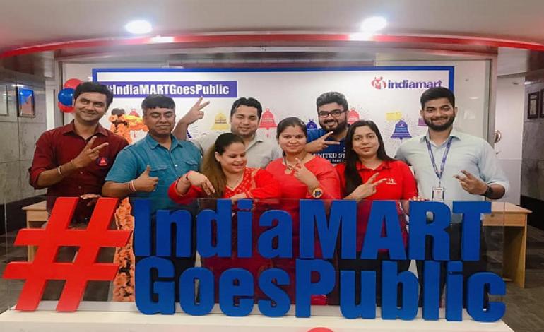 Indiamart posts profit of $4.5 million in Q1, FY'20