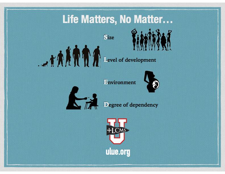 Life Matters--No Matter; ulue