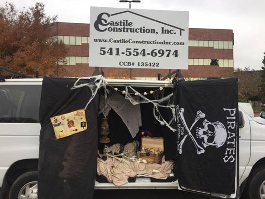 2016 Trunk or Treat Castile Truck