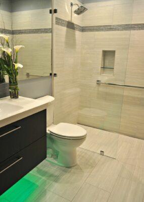 Finished Bathroom in Eugene