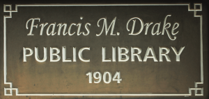 Drake-Public-Library-sign