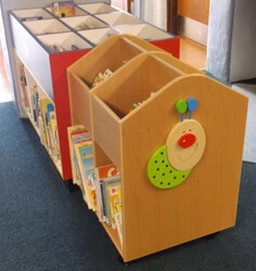 Picture of a board book bookcase
