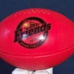 Mini vinyl football  $4.00