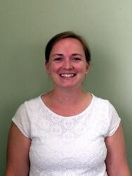 Library Board member Nicole Cox