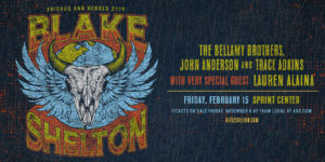 Blake Shelton: Friends and Heroes 2019 Tour (Feat. Bellamy Brothers, John Anderson, Trace Adkins, Lauren Alaina) @ The Sprint Center