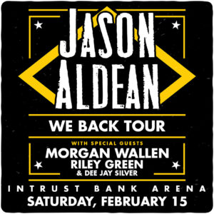 Jason Aldean: We Back Tour (Feat. Morgan Wallen, Riley Green & Dee Jay Silver) @ Intrust Bank Arena