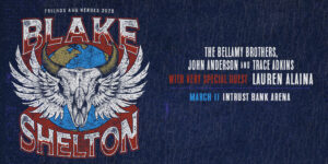 Blake Shelton Friends and Heroes 2020 Tour @ Intrust Bank Arena