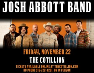 Josh Abbott Band @ The Cotillion