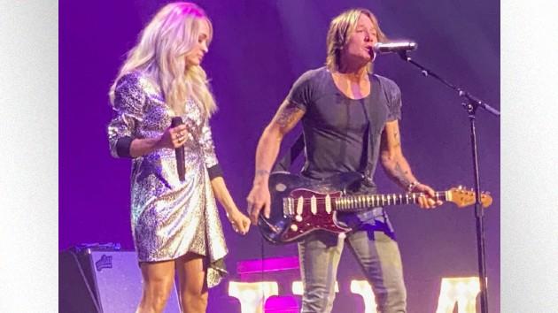 Carrie, Keith, Luke, Reba & more rock Nashville's Ryman Auditorium at CRS Event