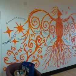 Phoenix Hope Wall