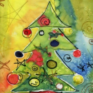 Edie Jolley - Halifax:  Xmas Tree