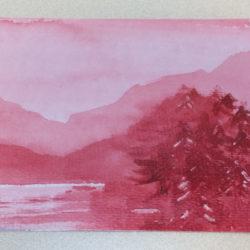 Watercolour Lake