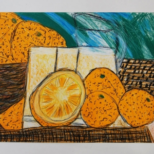 Oranges, sweet and juicy by Alison Johnson