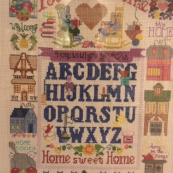Needlework – Home is where the heart is