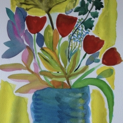 My First Flowers by Sally Ann Dyer
