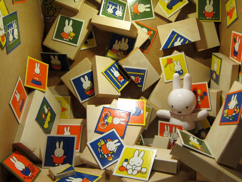 'Where is Miffy' exhibit at the Dick Bruna House, Utrecht