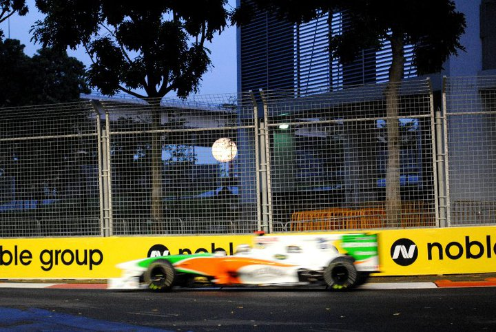 Adrian Sutil (Force India, 2010)