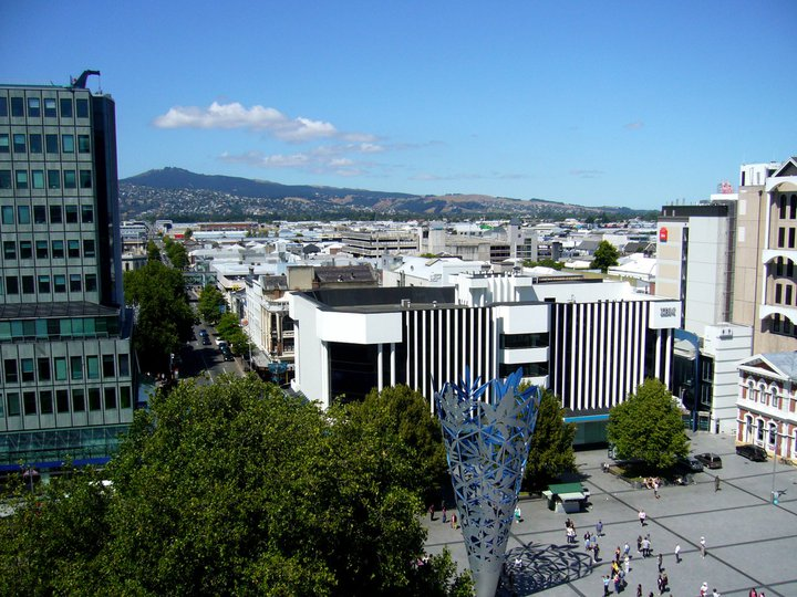 View of Christchurch