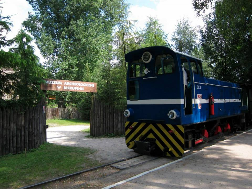 Trip to Biskupin on Polish narrow gauge