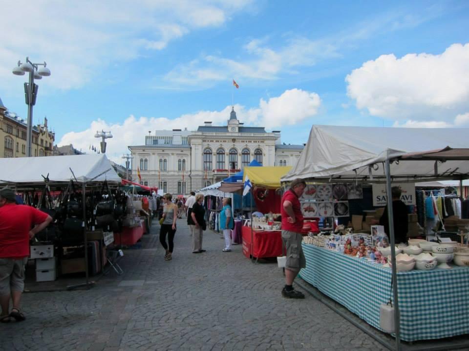 Tampere keskustori market