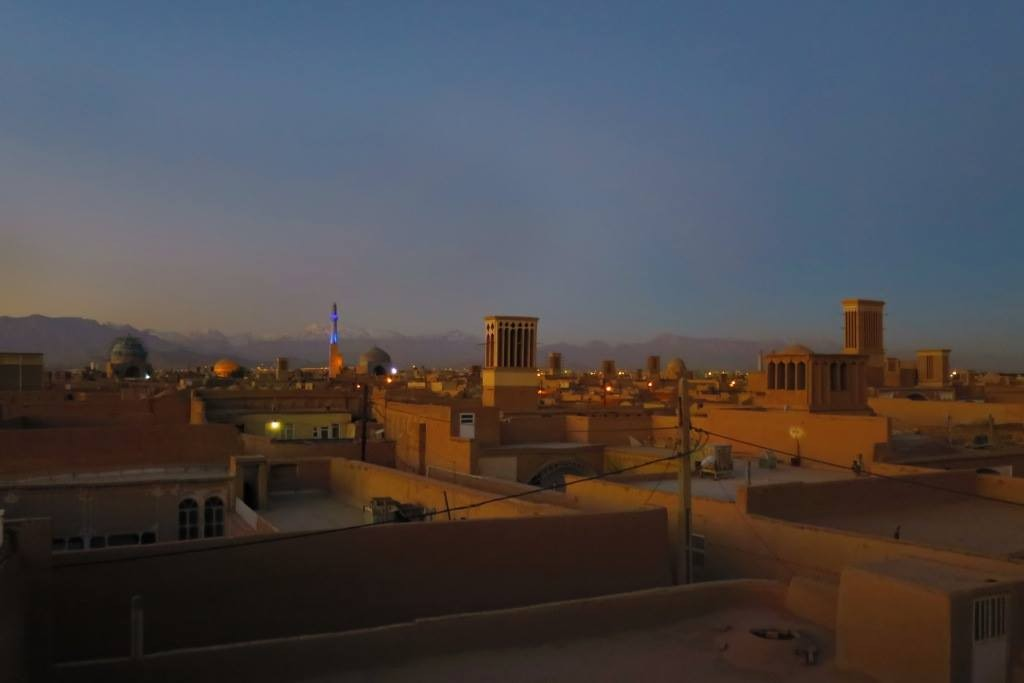 Yazd sunrise