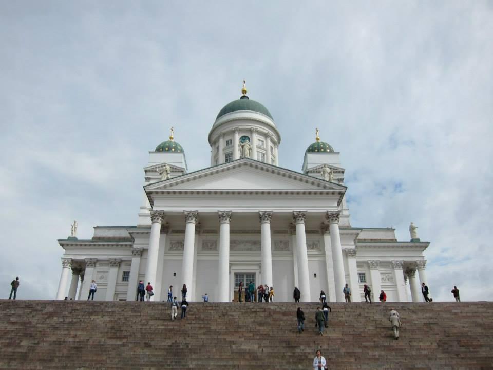 Helsinki on my first solo trip