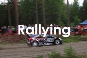 rallying image