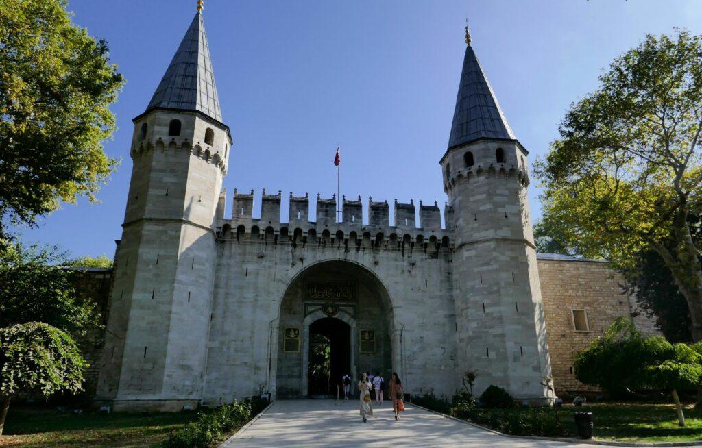 Topkapi Palace gates