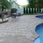 Paver Patio with Pool