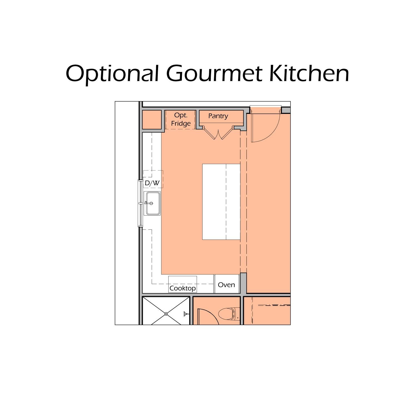 Heartland Plan A3 - Gourmet Kitchen Option