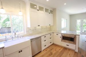 Ojai valley custom built cabinets