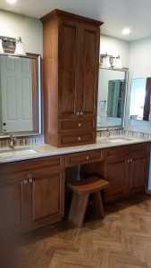 Master bath cabinets in Camarillo