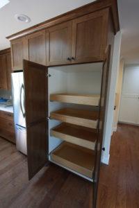 pantry cabinets with pullouts #customcabinetsinwestlakevillage #westlakevillagekitchencabinets
