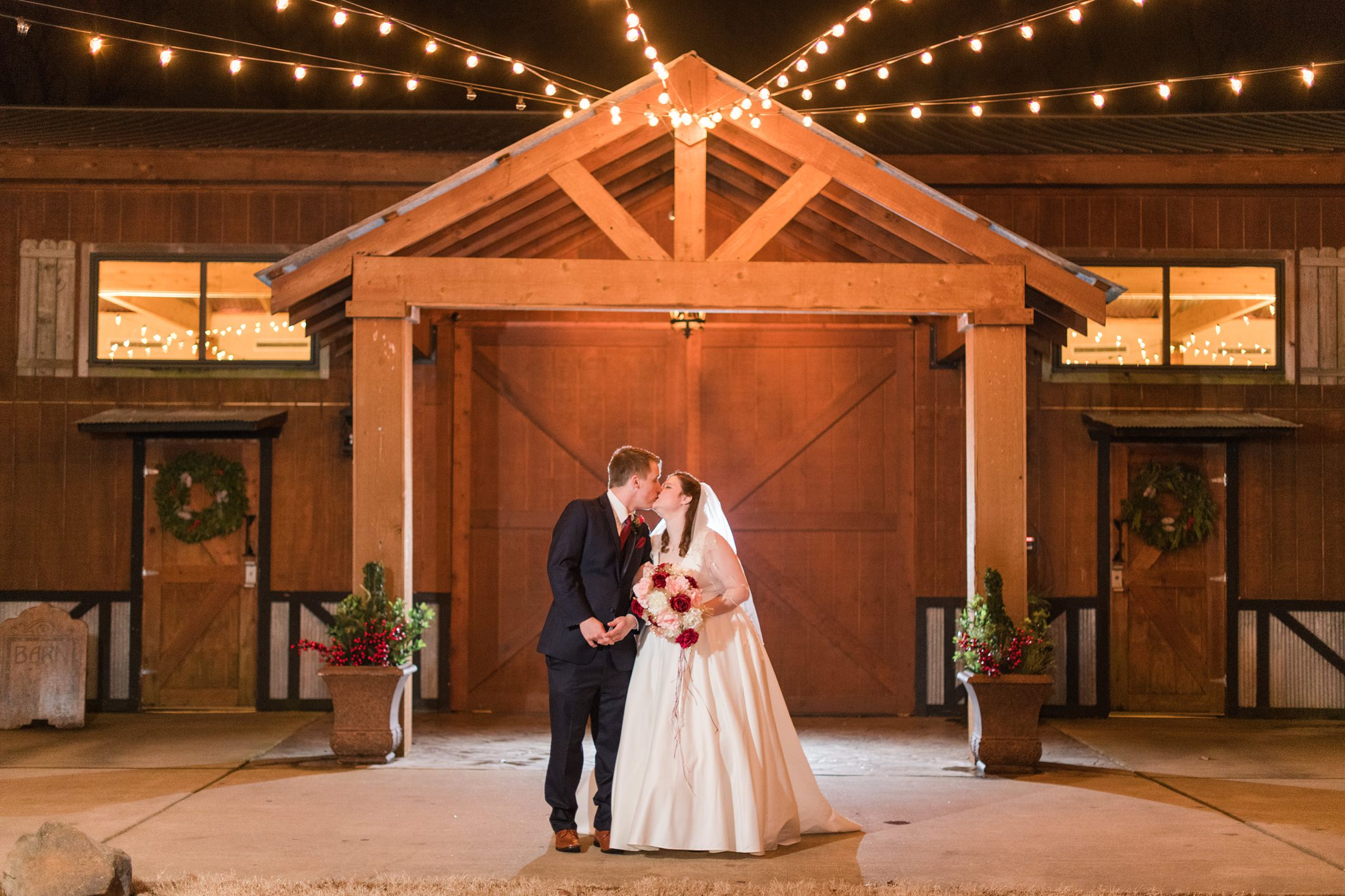 Micah + Alisha Wedding at Barn at the Springs in Springdale, AR