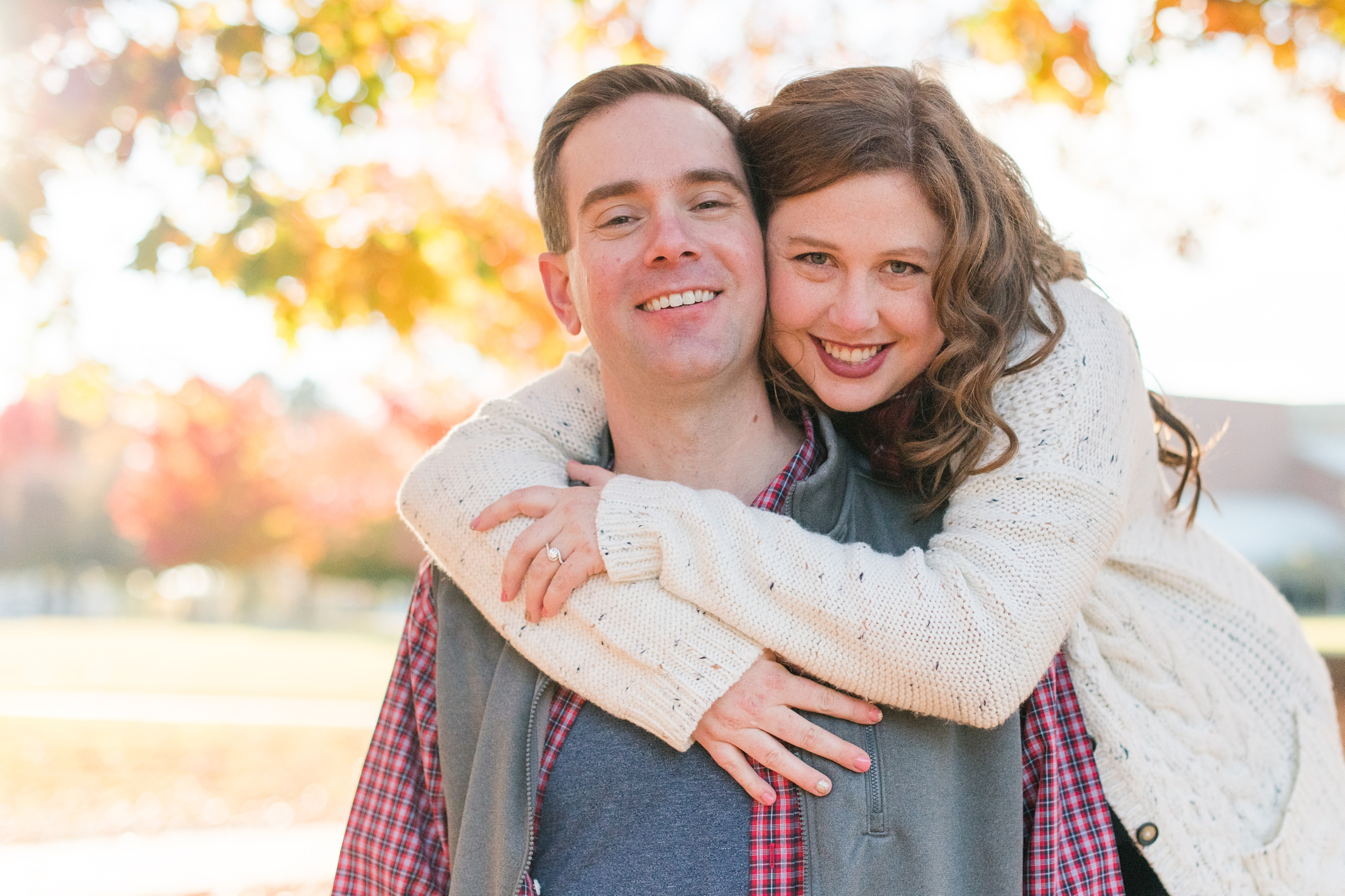 Kevin + Audrey Engagement Photos in Siloam Springs, AR