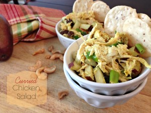 Low Fat Curried Chicken Salad