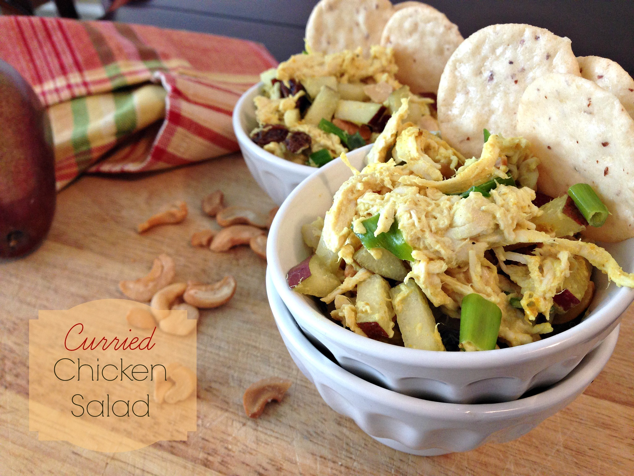 Low-Fat Curried Chicken Salad