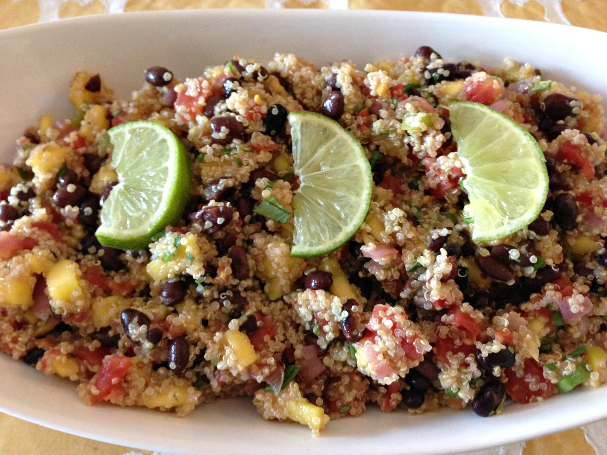 Fiesta Mango Quinoa Salad