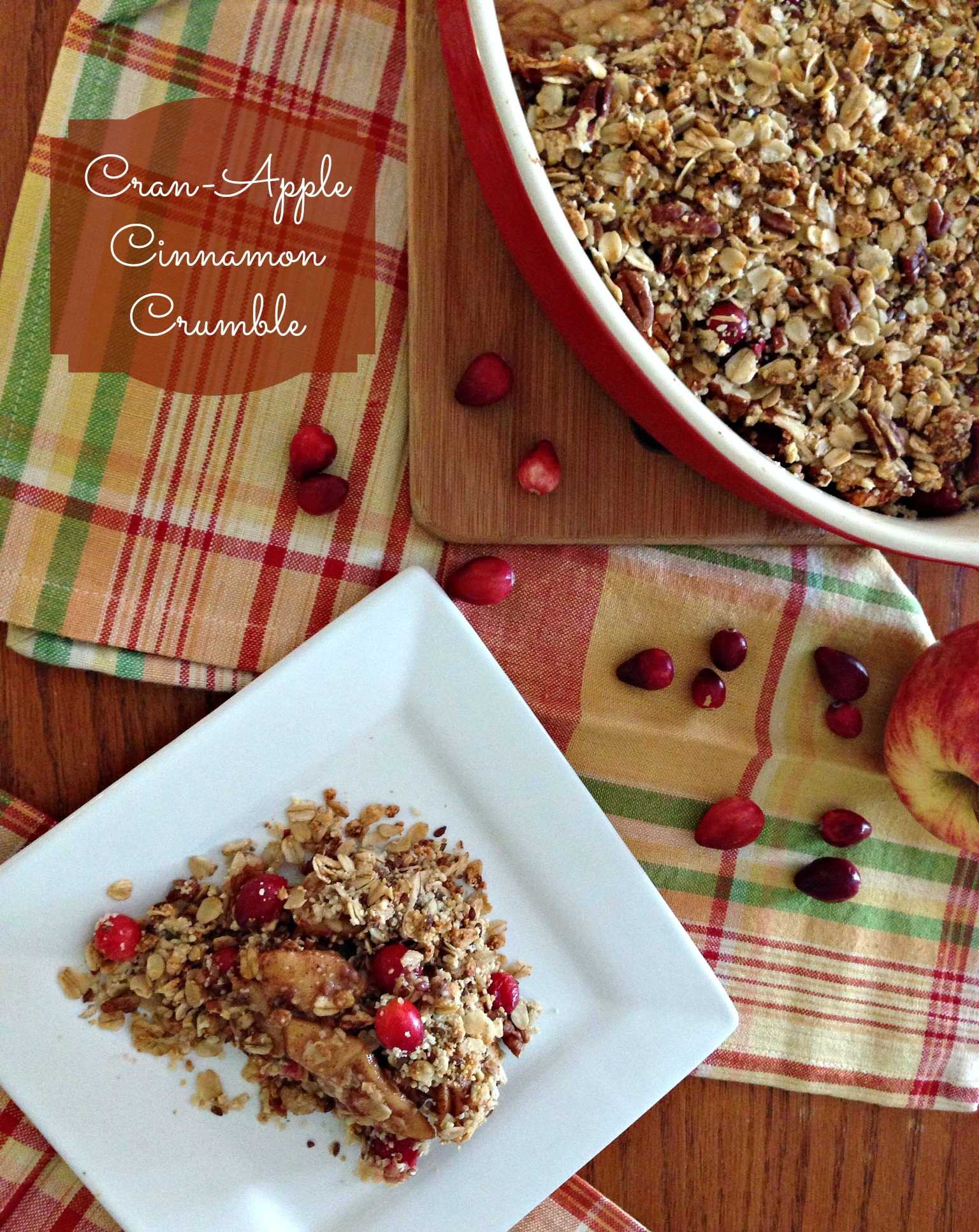 Cran-Apple Cinnamon Crumble