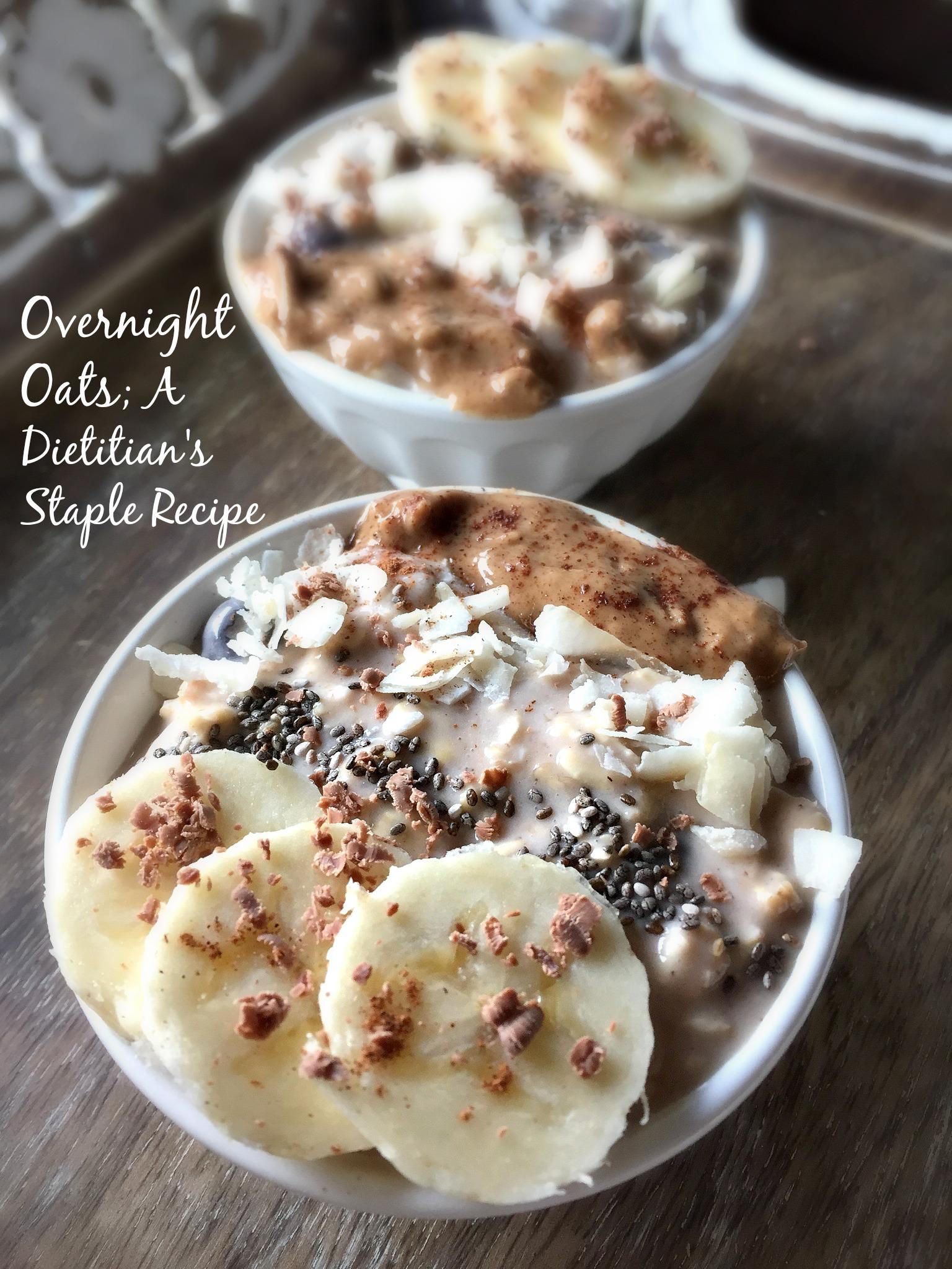 Overnight Oats – My Staple Recipe