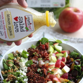 Fall Apple Harvest Salad {featuring Organic Girl}